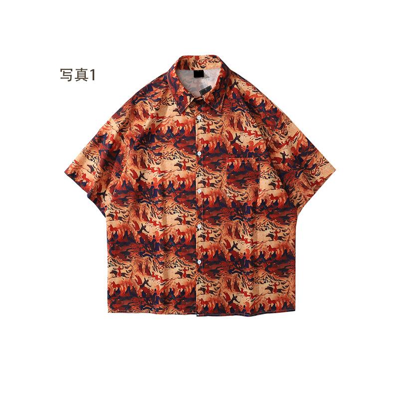 P10081 シャツ カップル メンズ レディース SALE 半袖 ファッション 人気 Tシャツ 2021春夏新作