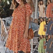 さり気なく旬を取り入れる。 レディースファッション 春夏 人気商品 シンプル ワンピース スカート