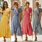 独特なシルエットに魅了される レディースファッション 春夏 人気 シンプル ワンピース スカート