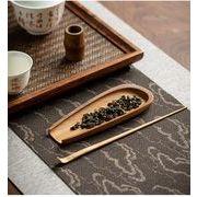竹製茶則2点セット  YMA356