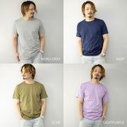 2021新作 半袖Tシャツ メンズ 半袖 クルーネック 4.0オンス 薄手 カラバリ豊富  カットソー ユニセックス