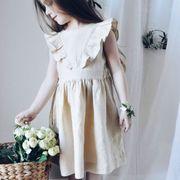2021春夏新作 ワンピース キッズ 女の子 子供服 カジュアル 韓国ファッション 5色 人気 新品