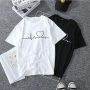 春夏新作 長Tシャツ  レディース トップス  可愛い 体型カバー トレーナー 大きいサイズ