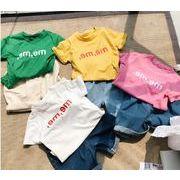 子供服 Tシャツ キッズ 子ども 夏 英字 カジュアル トレンド おしゃれ 人気