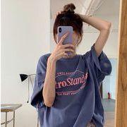 春夏新作 トップス Tシャツ ゆるやか 韓国風 オシャレ レディースファッション