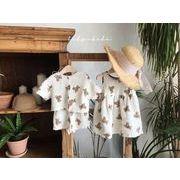 2021年春夏新作★GoSun子供服2点セットtシャツ+ボトムス/スカート★おくまさん韓国ファッション