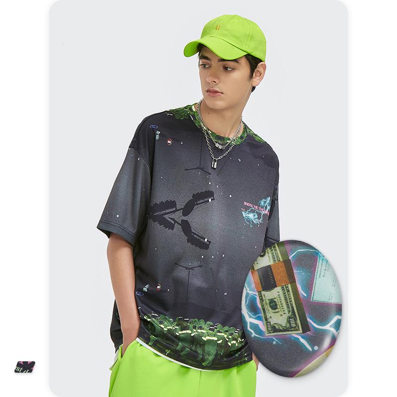 P10349 トップス 2021新作 シャツ T-シャツ 半袖 メンズ レディース スポーツ SALE ファッション