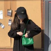 超人気 ins話題 INSスタイル 韓国 怠惰な風 エレガント ピュアカラー 旅行 スモールスクエアバッグ