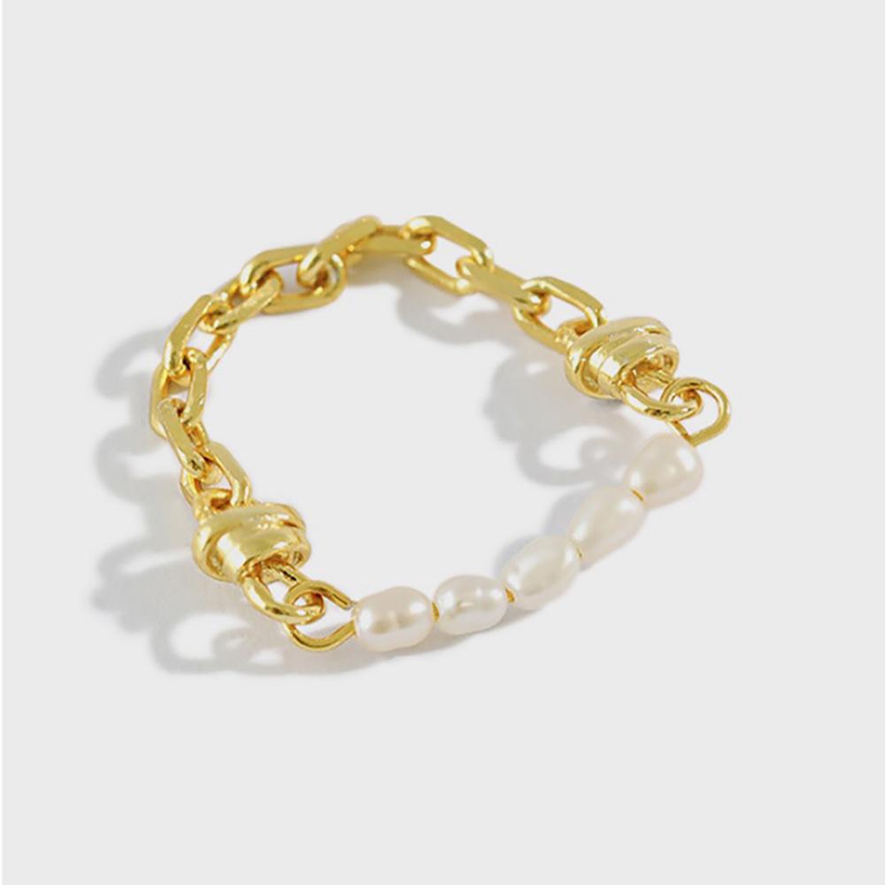 シルバー 925 gold 18金 silver925 シルバーリング silver silverring 指輪 パール ◆メール便対応可◆
