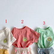 2021新作 韓国子供服  夏  ベビー服 半袖ロンパース 半袖Tシャツ   キッズ服 可愛い