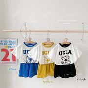 2021年春夏新作★GoSun子供服2点セット tシャツ+ボトムス★キッズ韓国ファッション