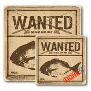 釣りステッカー マダイ 真鯛 Cタイプ 2枚セット FS003 フィッシング ステッカー 釣り グッズ