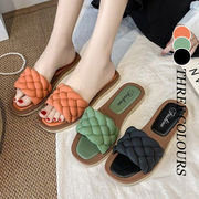 【Women】使い心地抜群 韓国ファッション サンダル  夏 アウター  靴  ファッション スリーパー