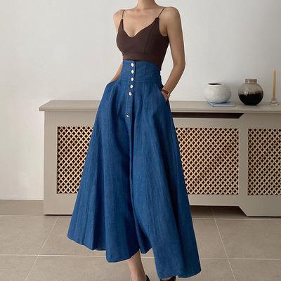 2021年春夏新作 レディース 韓国風 スカート ロング   ファッション S-M
