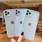 スマホケース  背面透明  iPhoneケース iPhone12 iPhone11 スマホケース 全8色