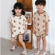 セットアップ 上下セット 子供服 子供 キッズ 女の子 男の子 熊 夏 新作 かわいい カジュアル 人気 韓国
