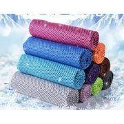アイスタオル クールタオル 冷感タオル 熱中症対策 冷却タオル 超冷感  瞬冷 アウトドア スポーツタオル