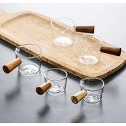 ガラスの酢皿の軽食皿食器の小さいミルクカップ WCM040