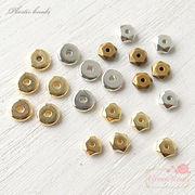 スペーサー ビーズ  メッキ加工プラスチックビーズ 約100個  beads941/beads942