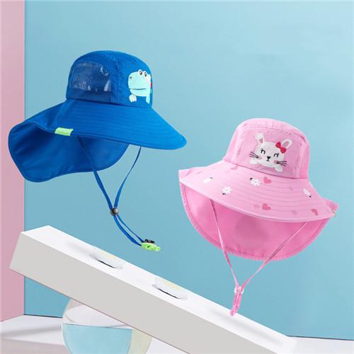 m18297 防紫外線 キッズ  大人気 可愛い ぼうし帽子 2021新作  SALE ファッション