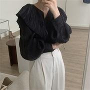 [最終SALE!!]レビュー満点 韓国ファッション トップス お出かけ スリム 韓国 デザインセンス クオリティ