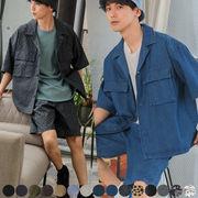 【2021春夏新作】セットアップ可能 15色展開 ユニセックス  半袖 CPOシャツ