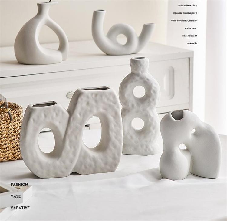 2021new\特価SALE  アート 陶製花瓶 ダイニングテーブル モデルルーム 装飾