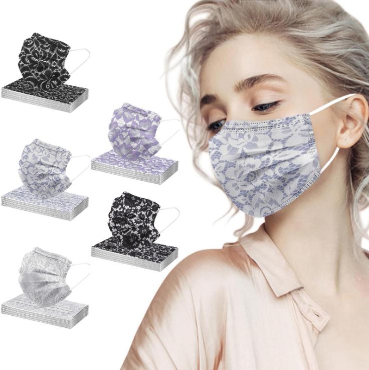 夏マスク 防塵 通気 レディース メンズ 使い捨てマスク 不織布マスク