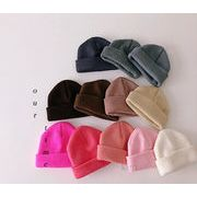 新品★★キッズ帽 可愛いハット ふわふわ ニット帽子★22色
