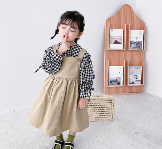 子供服 サロペットスカート キッズ 子ども 女の子 秋 カジュアル トレンド 人気