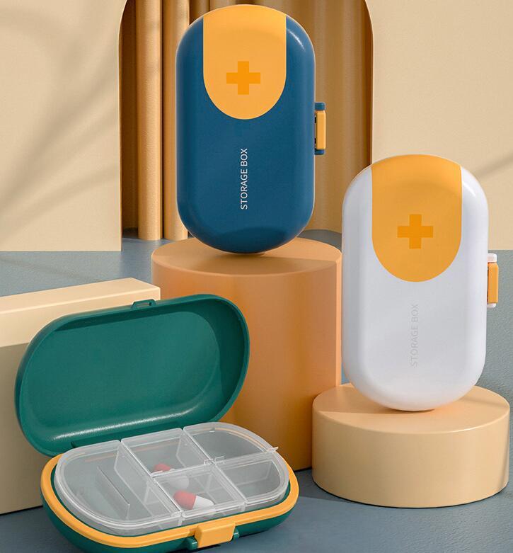 ポータブル薬箱切断薬大容量収納ボックストラベルサイズ