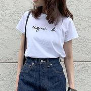 2021新作 プリント Tシャツ 人気tシャツ 半袖 トレンド感 カジュアル レディース