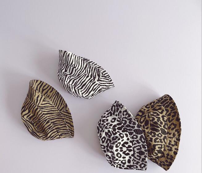 超人気 帽子 キャペリン 子供用 豹柄 斑馬柄 ベビー つば広 日よけ カンカン帽