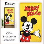 【受注生産のれん】Disney「BIG_MICKEY」約 幅 85cm × 丈 150cm【日本製】ディズニー