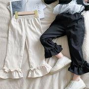 韓国風子供服 韓国ファッション 可愛い 女の子 ズボン フリル かわいい
