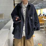 ユニセックス ジャケットコーデュロイ秋冬カジュアル 大きいサイズ メンズ