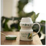 マグカップ ヨーグルトカップ 牛乳カップ 小さい新鮮な 可愛い INSスタイル