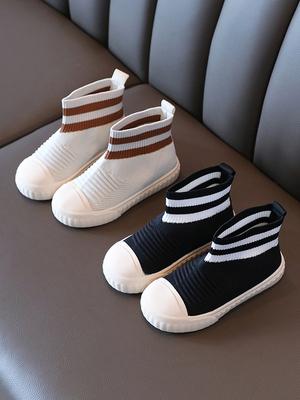 年 秋 新しいデザイン 男女 子供 コンフォート ソフトボトム フライングウィーブ 靴