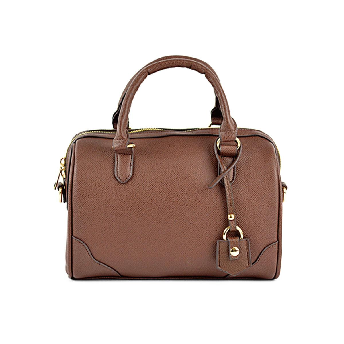 【予約販売】(9月中旬納品)チャーム付 2WAY ミニボストンバッグ [コラール] / レディース バッグ