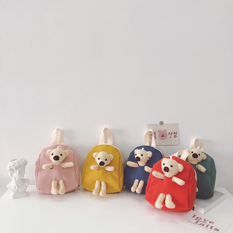 バッグ 鞄 カバン リュック キッズ 子ども 秋冬 アニメ クマ カジュアル かわいい 個性