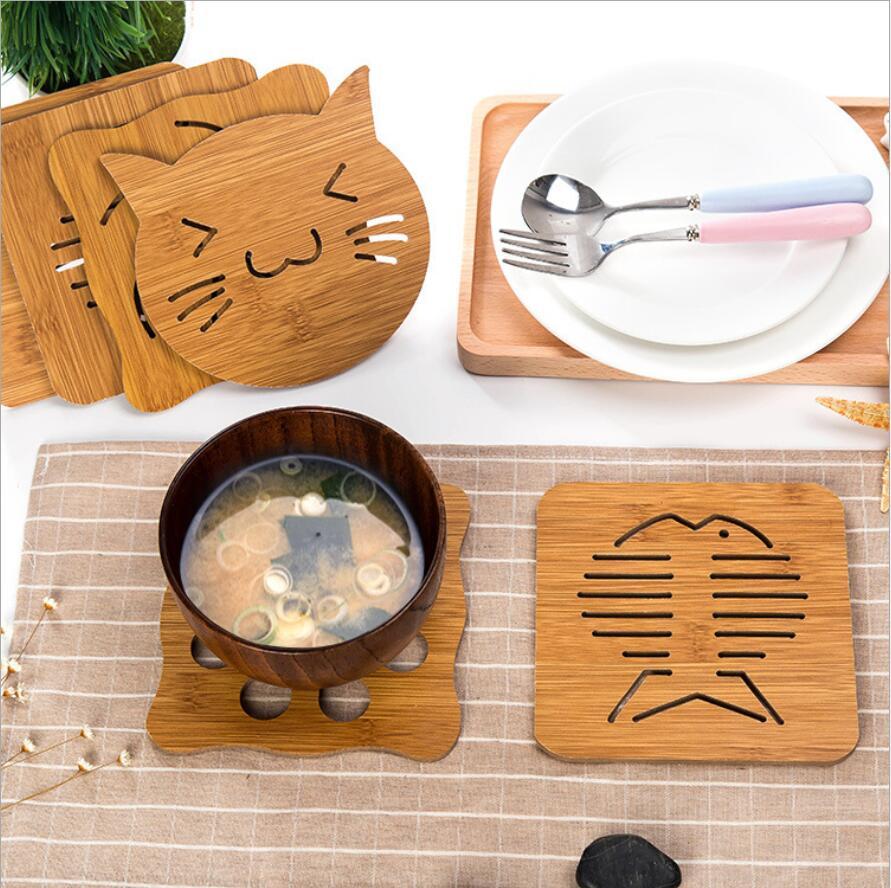 耐熱 防水 滑り止め 断熱パッド 茶パッド 鍋 碗 コップ敷き カップマット 卓上用品 キッチン雑貨