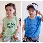 韓国ファッション 韓国子供服 2021秋冬新作  子供服 Tシャツ トップス 2色 80-130