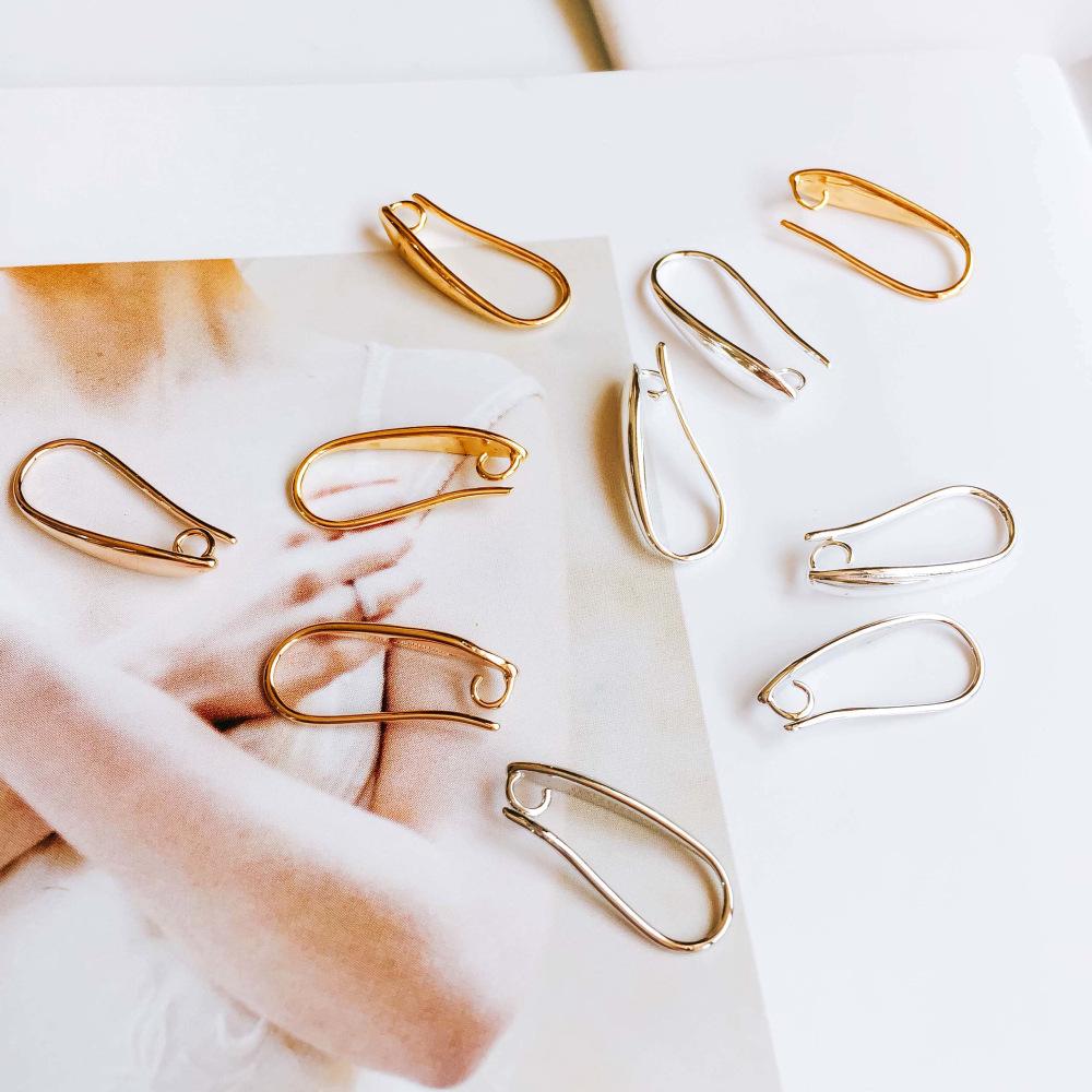 イヤリングパーツ クリップ 素材 イヤリング金具 アクセサリーパーツ 資材 はさむ クリップ式 副資材