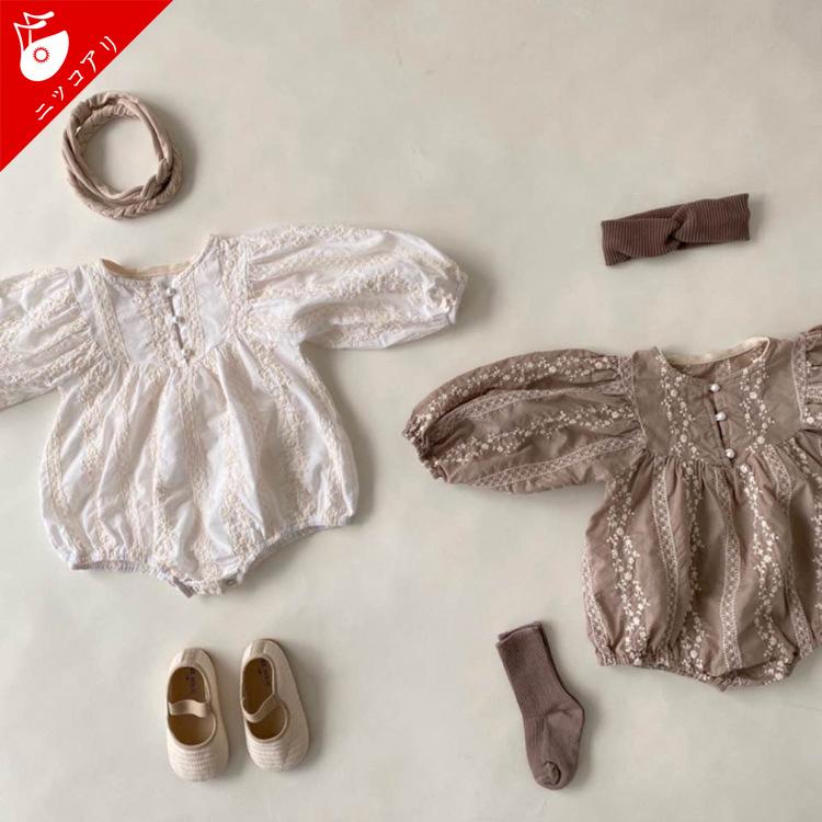 ベビー服 女の子 新生児 赤ちゃん ロンパース