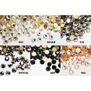 硬度・輝度A級ガラスストーン【SS12】3.2mm全カラー【売り尽くしセール】1粒0.2円