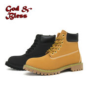 【GOD&BLESS】 イエローブーツ  GB-3126N