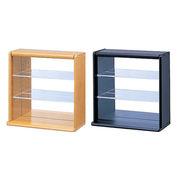 CCM-001 ナカバヤシ コレクションケース ミニ 透明アクリル棚板タイプ LS(ライトブラウン)