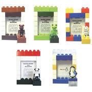 ブロックフレームS 人形付 ペンギン