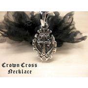 エンブレムリリークロスネックレス・十字架・百合