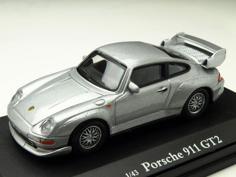 Cararama/カララマ ポルシェ 911 GT2  シルバー
